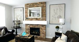 luxury fireplace wall art decor to french letter corner idea sticker around next for stone