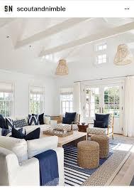 Light and bright coastal interior with a relaxed feel | Coastal ...
