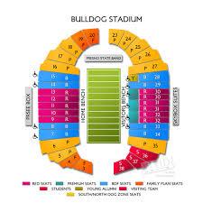 Bulldog Stadium Seating Chart Fresno State Stadium Map Related Keywords Suggestions