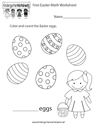 The easter resource set introduces twelve vocabulary words that reappear in eight. Easter Worksheets For Preschool Pdf Brian Molko