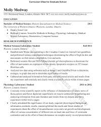 Graduate Application Resume Resume Online Builder