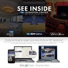 Lexington Center Virtual Tour Now Online Rupp Arena