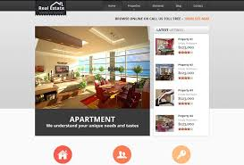 Real Estate Website Templates Inspiration 48 Real Estate HTML Website Templates Postashio