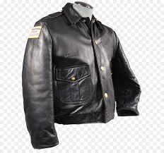 leather jacket police jacket black png