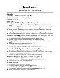 Finance Resume Template Finance New Grad Resume Jobsxs Com