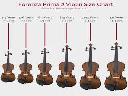 Cello Sizing Chart What Size Cello Should My Student Play