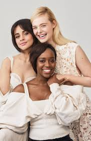 elle fanning camila cabello and aja naomi king on what beauty means to them glamour