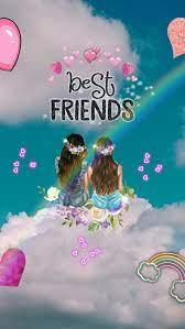 friends cartoon, Best friend wallpaper ...