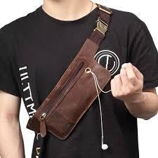 <b>JOYIR</b> Genuine Cowhide <b>Leather Men</b> Shoulder Bag Small ...