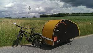 Bike Camper Trailer Homemade Teardrop Bicycle Micro Camper Trailer Youtube