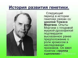 Презентация на тему МОКУ Покровская средняя общеобразовательная  4 История развития генетики