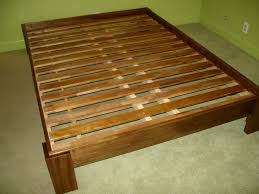 image of king size platform bed frame dimensions