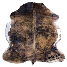 faux brindle cowhide rug classic brown rodeo rugs 8 light brindle cowhide rug