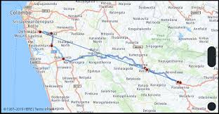 What Is The Driving Distance From Maharagama Sri Lanka To