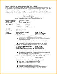Federal Resume Format Sample Best Of Federal Resume Service