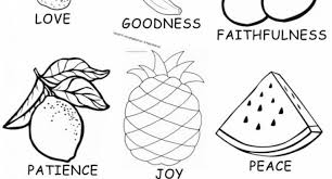 Small Picture fruit of the spirit self control coloring page Archives Cool