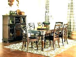 dining rug best for under kitchen table area rugs round unde