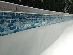 waterline swimming pool tile smith pools fujiwa porcelain glass tiles