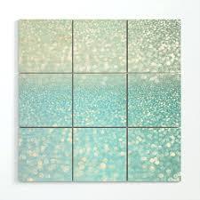 foam wall art mermaid sea ocean glitter wood by diy