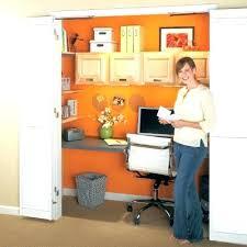 closet to office. Closet Office Ideas Desk How To Create An
