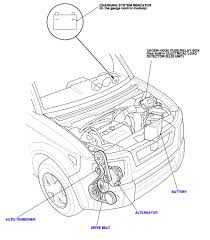 Diagram 2003 honda civic belt diagram