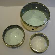 brass desk magnifying glass paperweight c 1910 antique desk furniture accessories antique english optimus alt5