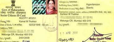 In Id Citizens Card Id 6592305848 Senior Neral Raigad