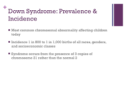 care of pediatric down syndrome down