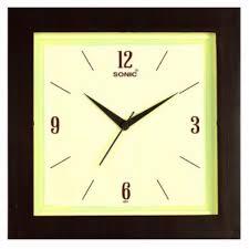 plastic square wall clock 051 rs 94