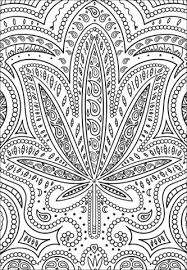 coloring pages weed trippy weed coloring page free printable coloring pages ideas