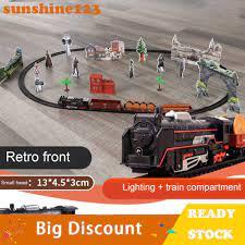 Bộ Đồ Chơi Xe Lửa Chạy Trên Đường Ray Sunshine123 Cho Bé chính hãng 226,350đ