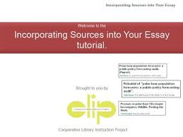 incorporating sources into your essay library video thumbnail for incorporating sources into your essay