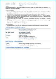Cleaner Cv Example And Writing Guide Get Noticed By Employers