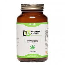 Vitamiini päevane piirmär nüd 4000 iu - d, ehk 100