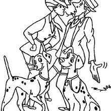 Small Picture 101 Dalmatians coloring pages 41 free Disney printables for kids