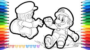 Interesting Ideas Mario Odyssey Coloring Pages How To Draw Cappy 38