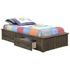 twin platform beds with storage. Fashionable Twin Platform Bed With Drawers Coaster Napoleon Storage . Beds