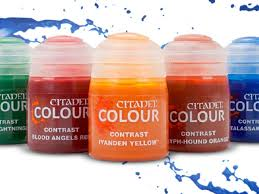 Gw Colour Chart Citadel Contrast Paints The Future Is Here Review