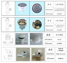bathtub jet covers lot hot tub air jet water jet water plastic and stainless steel air bathtub jet