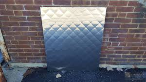 Quilted - Diamond pattern quilted stainless steel backsplash & ... Stainless steel backsplash with diamond pattern - view 5 ... Adamdwight.com