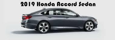Difference Between 2018 And 2019 Honda Accord 2018 Honda