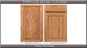 512 honey oak finish cabinet door style