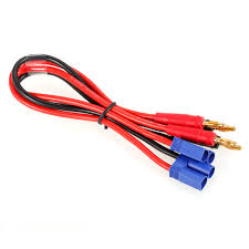 2pcs ec5 to 4 0 male banana connector ultra adapter wire harness wire harness connector kit at Wire Harness Connectors