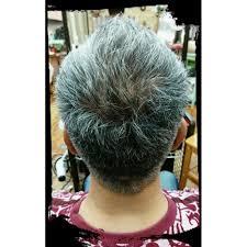 シニアメンズショートカット 美人冠ビジンカンのヘアスタイル 美容