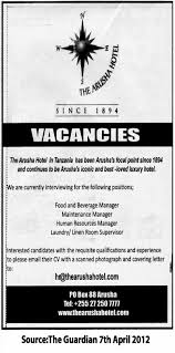 food and beverage manager maintenance manager human resources job description