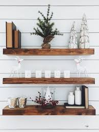 Reclaimed Wood Floating Shelf - Shipping Included