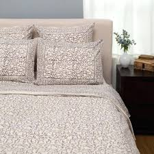 taupe duvet cover handmade chain pattern duvet set taupe king on mackenna paisley duvet