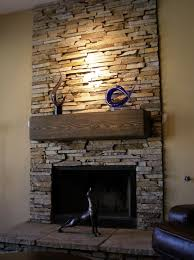 Antique Faux Stone Fireplace Surround  Home Fireplaces Firepits Fake Stone Fireplace