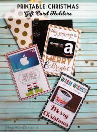 printable gift card holders great of neighbor or teacher gifts printables
