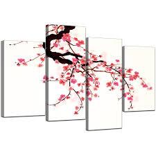 cherry blossom canvas wall art uk